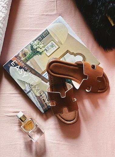 Arma Shoes Kadın Home&Away Terlik Kahve